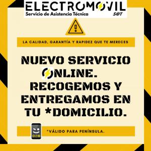 servicio de reparación on-line