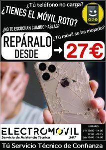 reparar móvil